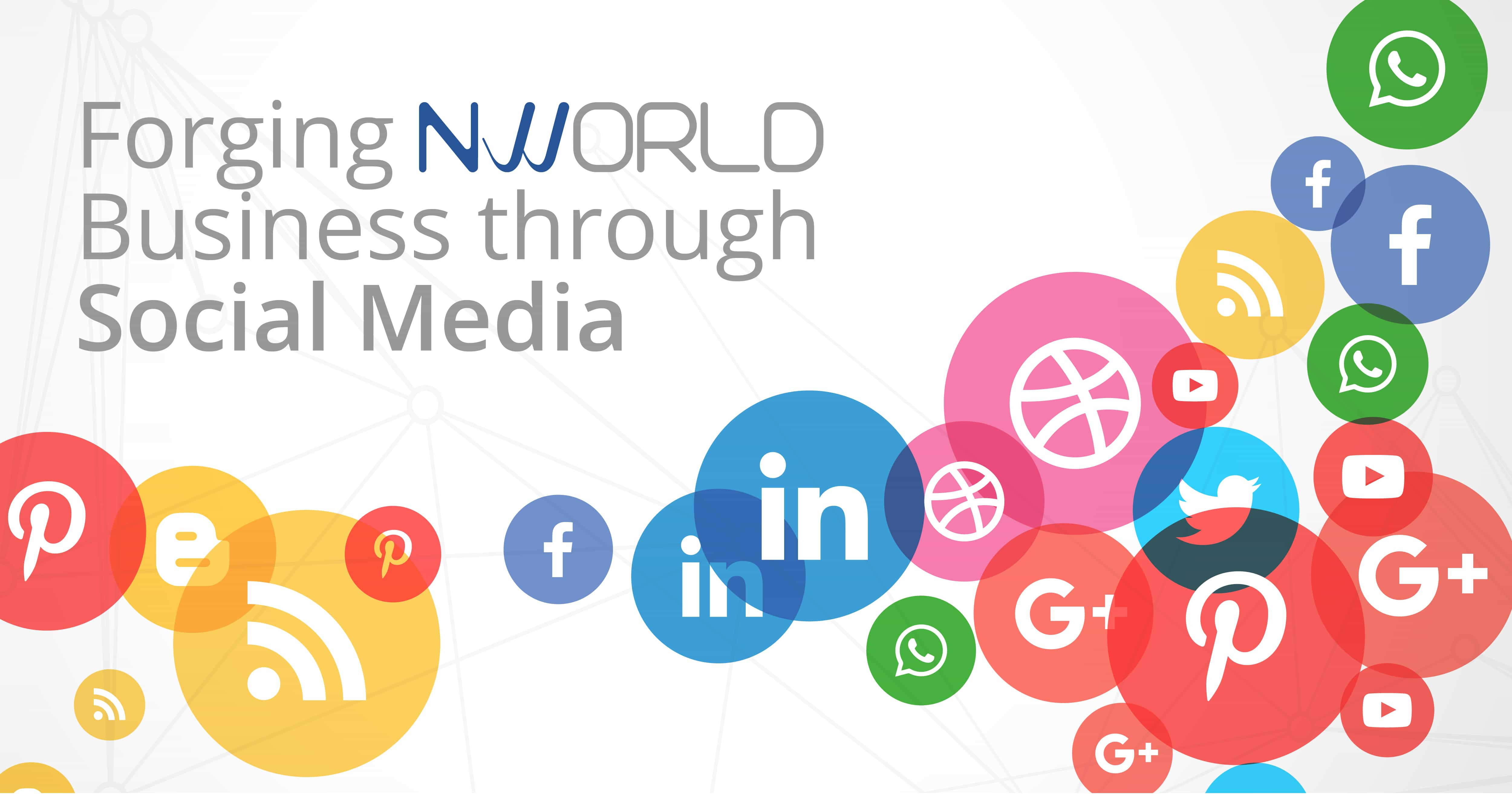 FORGING NWORLD BUSINESS THROUGH SOCIAL MEDIA
