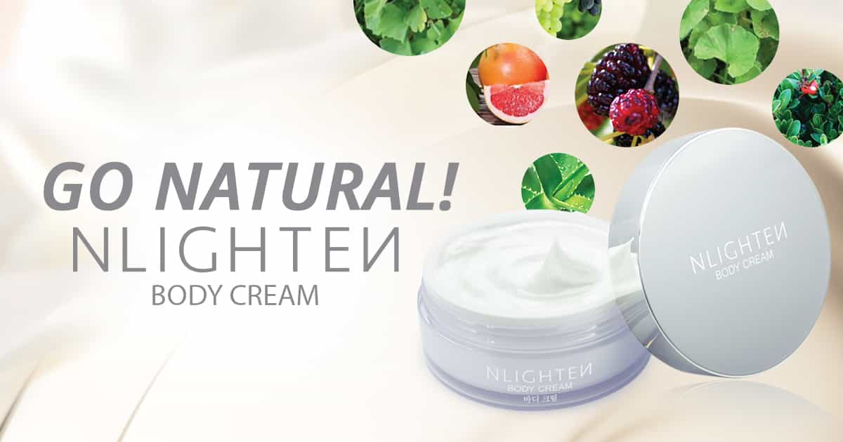 Go Natural! Nlighten Body Cream