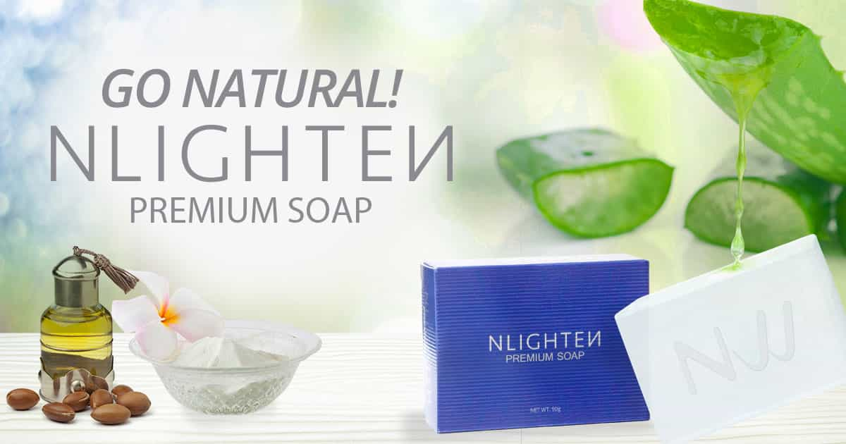 Go Natural! NLIGHTEN Premium Soap