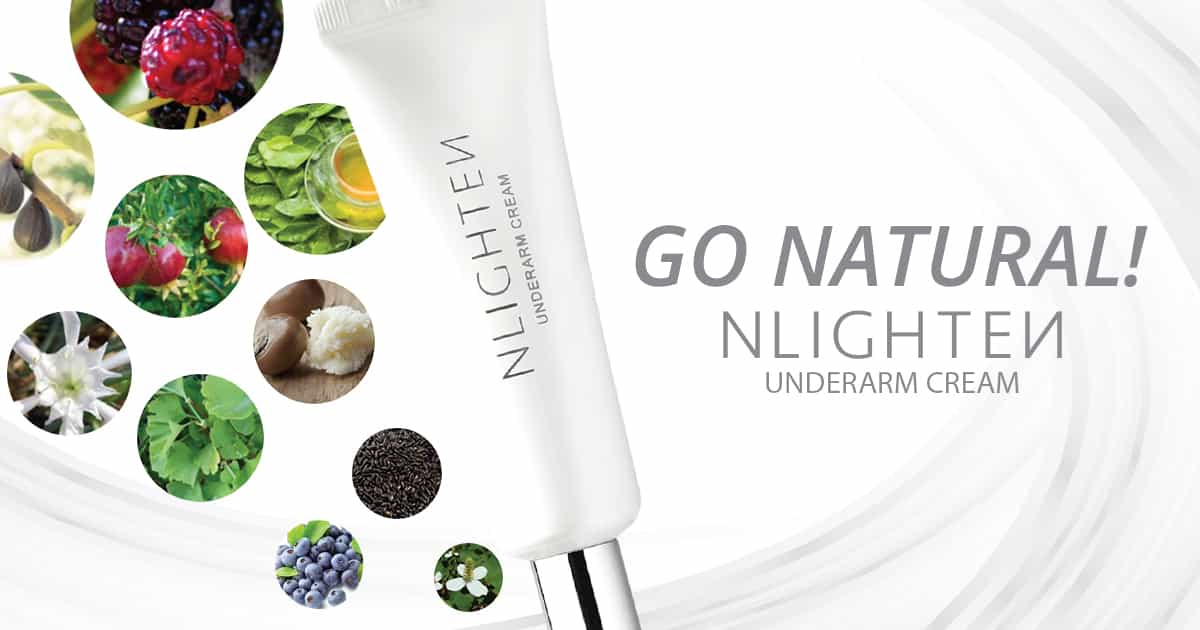 Go Natural! Nlighten Underarm Cream