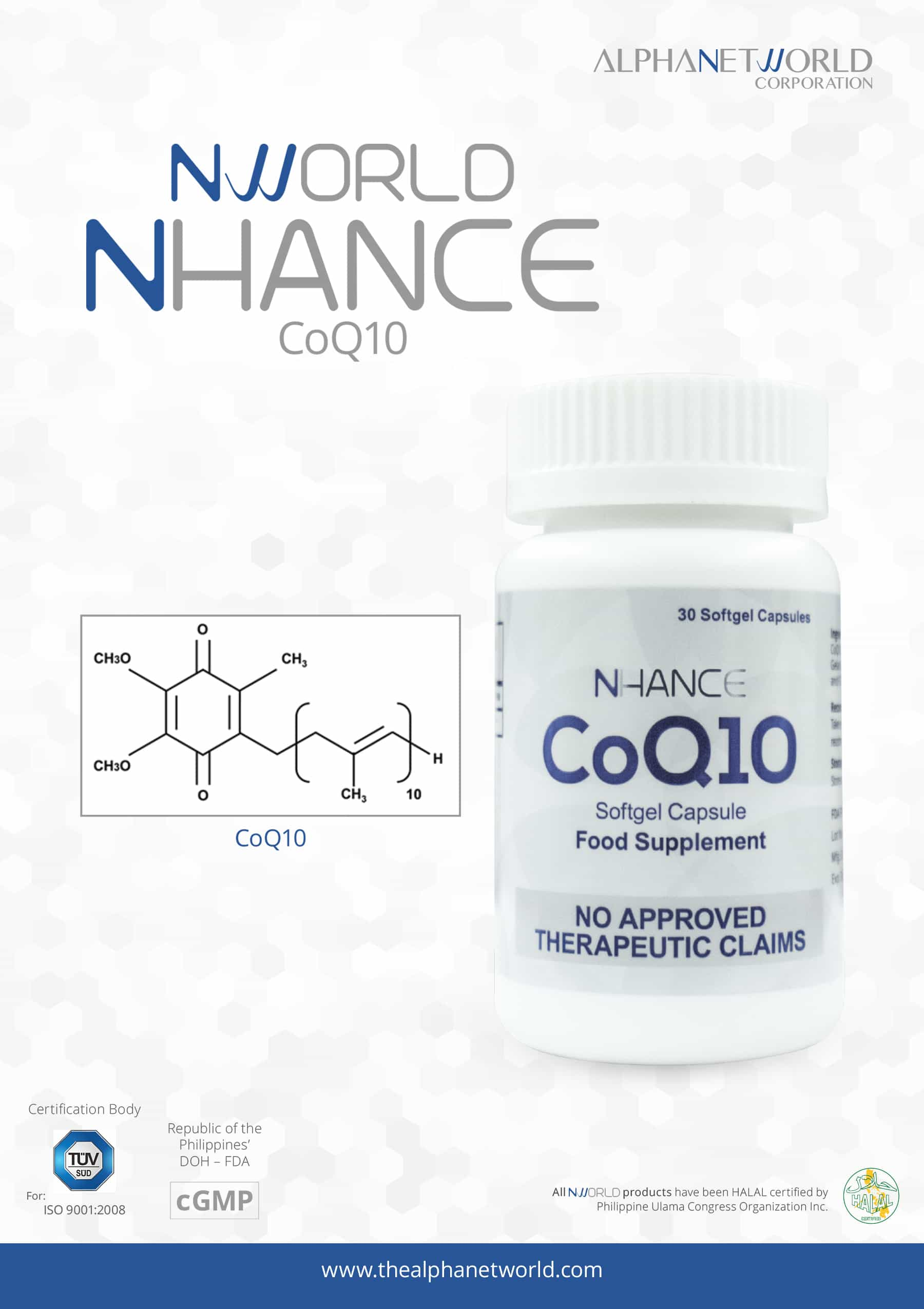 CoQ10 - Ingredients Poster