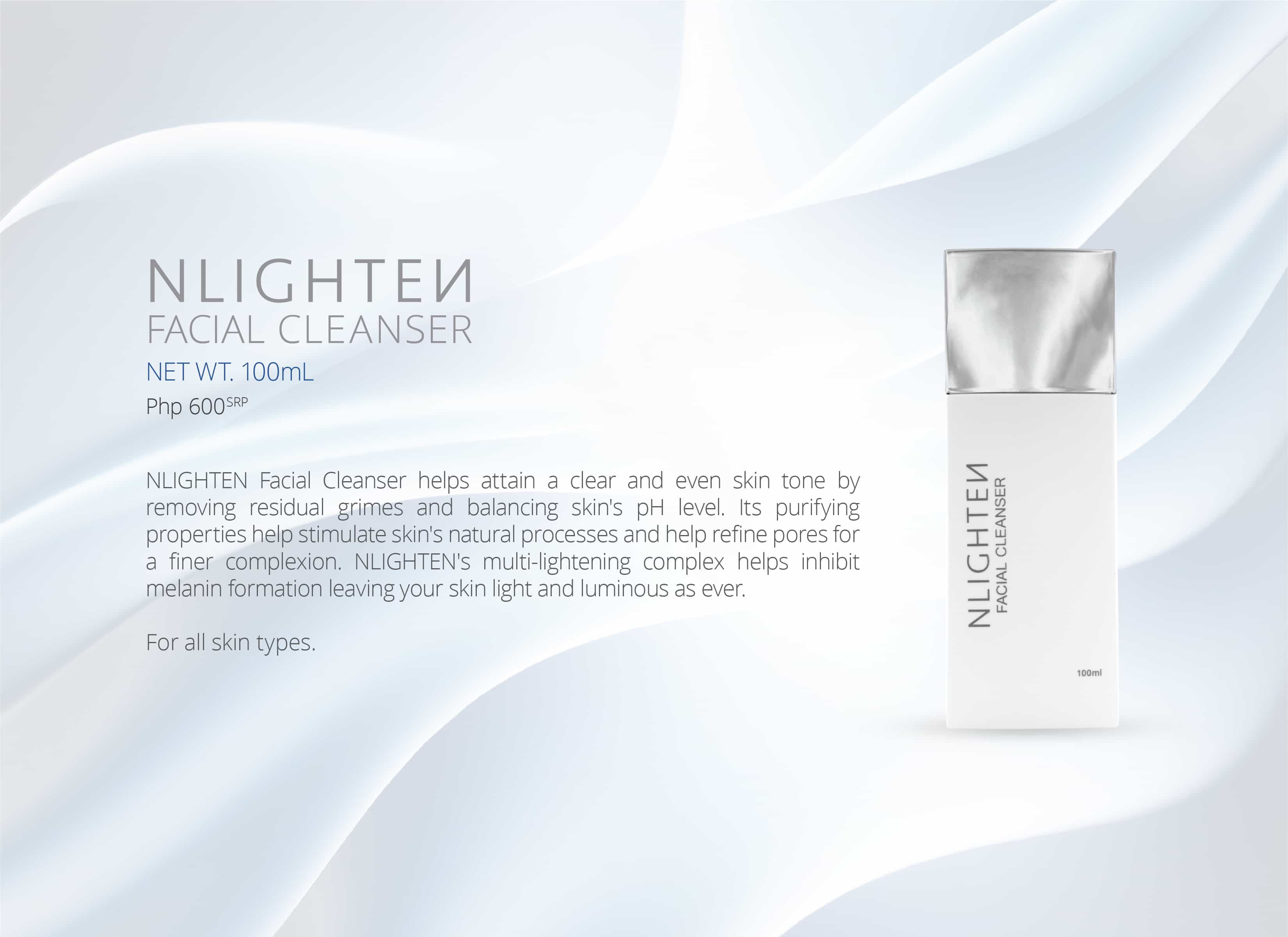NLIGHTEN Facial Cleanser