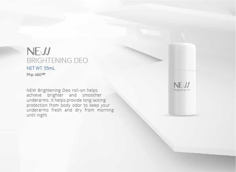 NEW Brightening Deo